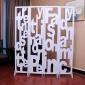 【京好】11月底发货办公隔断 精雕花环保客厅卧室现代简约门帘架A