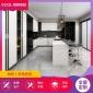 厨房空间白色定制橱柜 收纳柜储物柜 多功能家具
